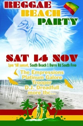 reggae beach party