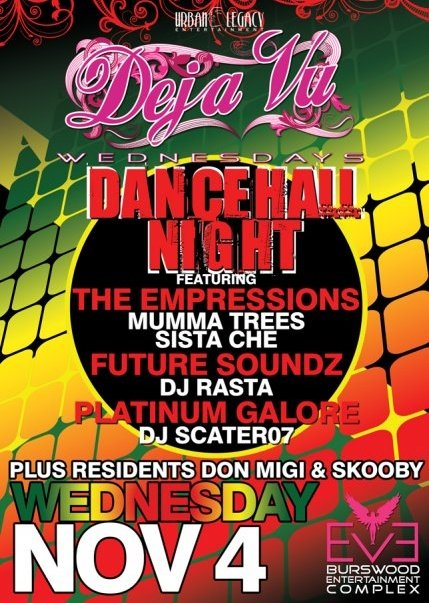 dancehall night eve nightclub