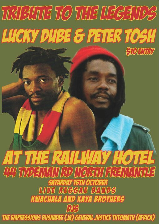 peter tosh lucky dube