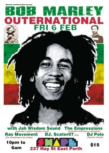 bob marley outernational